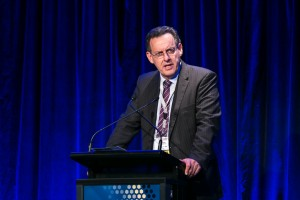 Mr Maurice James, Managing Director, Qube Holdings Ltd. Day 2. ALC Forum 2014. Australian Logistics Council. Royal Randwick Racecourse. Sydney. Photo: Pat Brunet/Event Photos Australia